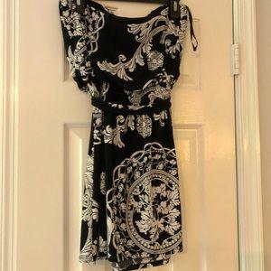 Strapless White House Black Market Dress.